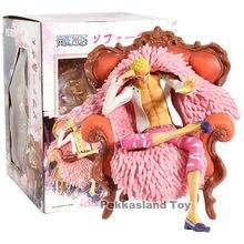 Аниме One Piece Donquixote Doflamingo сидячий диван Ver. Коллекционная модель игрушки из ПВХ