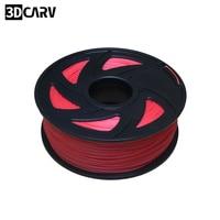 3D filament PLA filament 1.75 Multi colors 1KG plastic spools filament 1.75mm 3D printer filament impressora 3D filamento