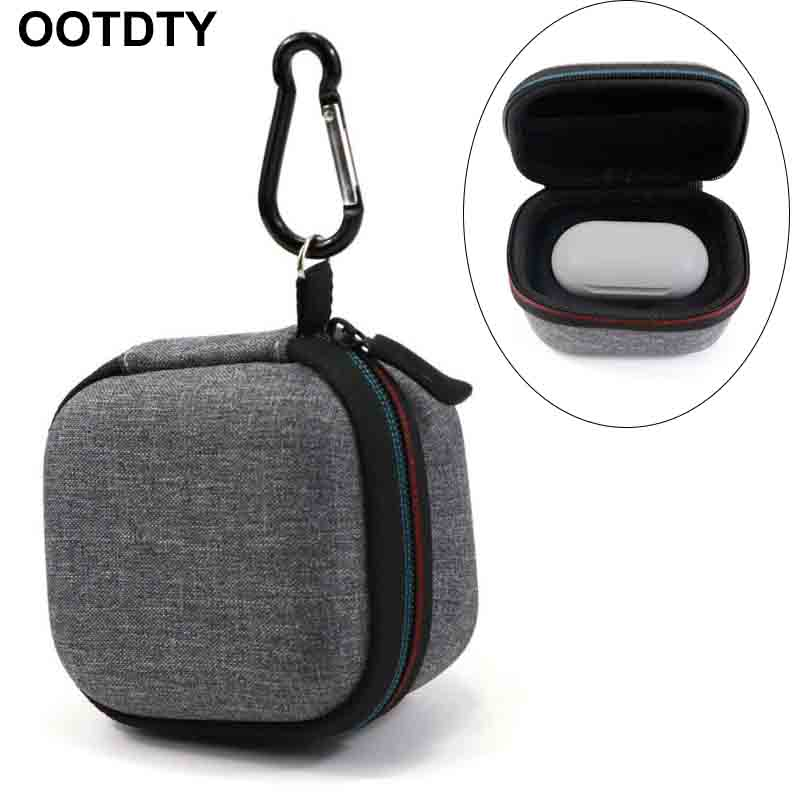 Portable Zipper Pouch Dust/ Shockproof Hard Protective Earphone Case Storage Bag Box For Samsung Galaxy Buds