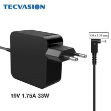 Adaptador de corriente alterna para ASUS Vivobook S200 S220 X200T X202E X553M Q200E X201E, cargador de fuente de alimentación de 19V, 1,75 A, 4,0x1,35mm, 33W, ADP 33AW A