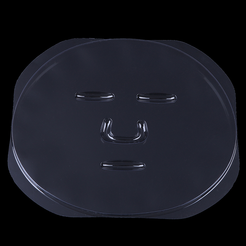 1PC Reuseable Facial Mask Plate For Fruit Vegetable Mask Machine Maker Clear Silicone Mask Mould Tray Mask Making DIY Tool
