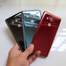 Real behuizing Voor HTC U11 Ogen Back Battery Cover Achter Glas Deur Behuizing Case Voor U11 Ogen Batterij Cover + camera Lens Vervanging