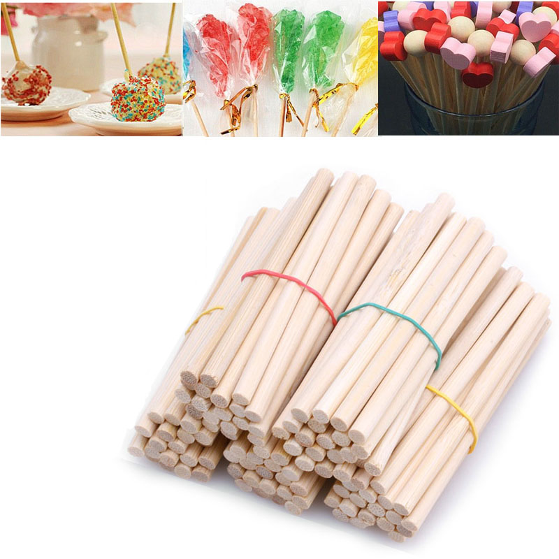 Free Shipping 100Pcs/lot Math Manipulatives Wooden Counting Sticks Kids Preschool Educational Toys