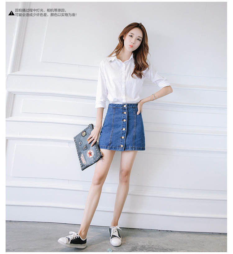 HTB18Nn.QFXXXXXAXXXXq6xXFXXXq - FREE SHIPPING Women High Waist Retro Denim Skirt JKP275