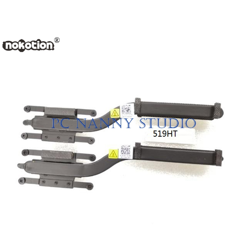 "NOKOTION FOR UltraBook 12.5"" XPS 12 9Q23 519HT Heatsink Assembly Radiator Cooler WORKING used"
