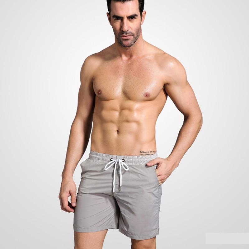 New arrive men swimewar 2018 hot selling men water sports solid 7 colors boardshorts beach shorts for men swimsuits beach pants