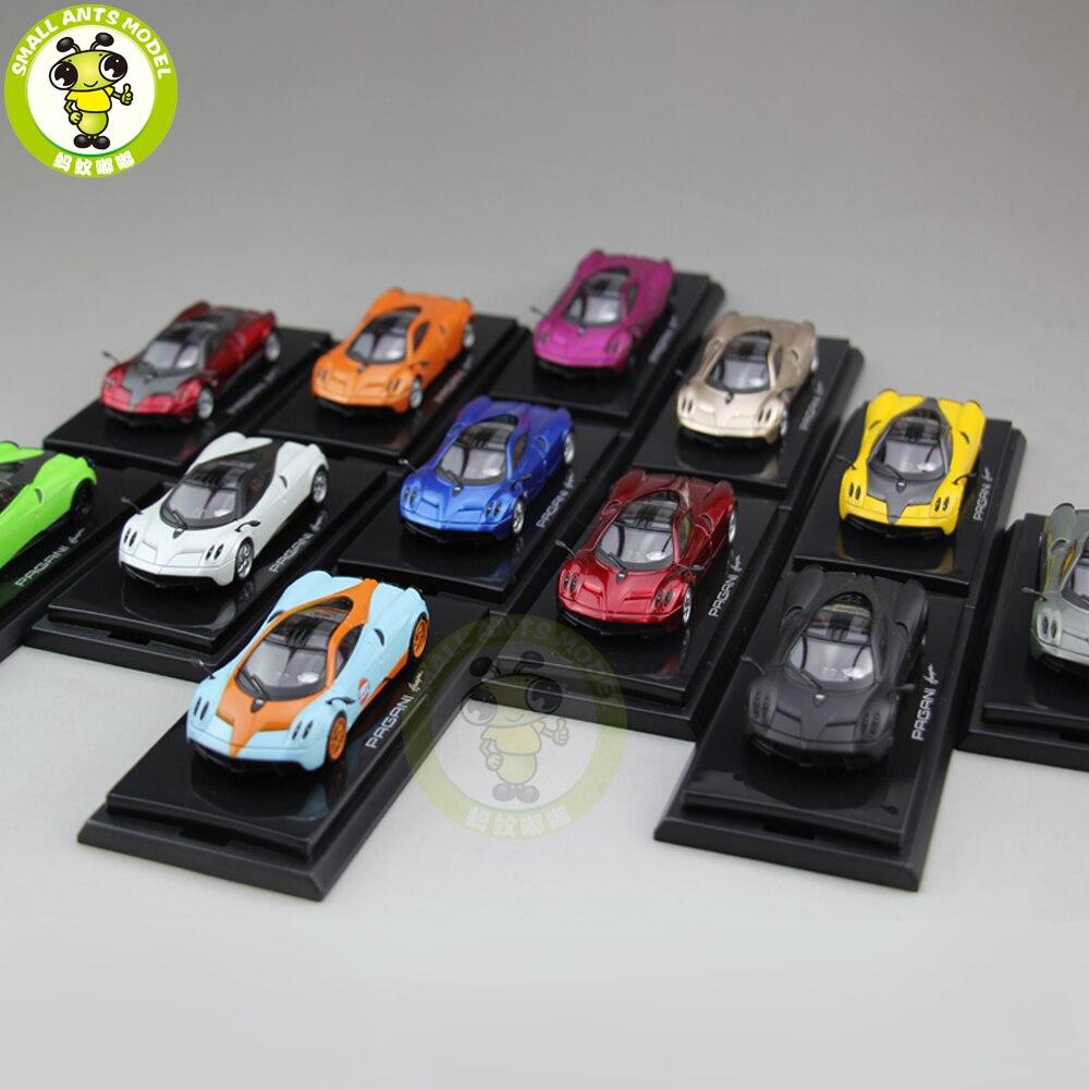 1/64 Pagani Automobili Huayra Supercar Diecast Brinquedos Modelo de Carro Menino Menina Presente Coleção Passatempo