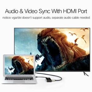 Image 2 - منفذ عرض صغير من Ugreen Thunderbolt إلى HDMI/VGA/DVI كابل محول محول لجهاز Apple MacBook Air Pro 4K منفذ عرض صغير إلى VGA