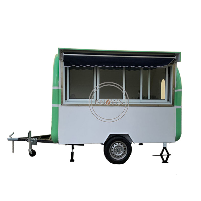 KN-280H mobile street/ food /hot dog /ice cream/bin carts/trailer  with free shipping by sea and awning can be customizedKN-280H mobile street/ food /hot dog /ice cream/bin carts/trailer  with free shipping by sea and awning can be customized