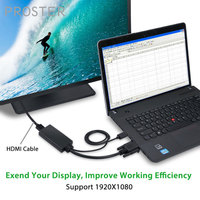VGA to HDMI Converter HD 1080p VGA+USB Audio To HDMI Cable VGA With USB Audio For Desktop PC DVD From Analogue VGA SVGA To HDTV