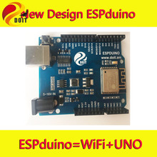 Official DOIT ESPDuino  Development Board= UNO R3 for arduino with WiFi  from ESP8266 ESP-13 DIY RC Toy car tank chassis Remote