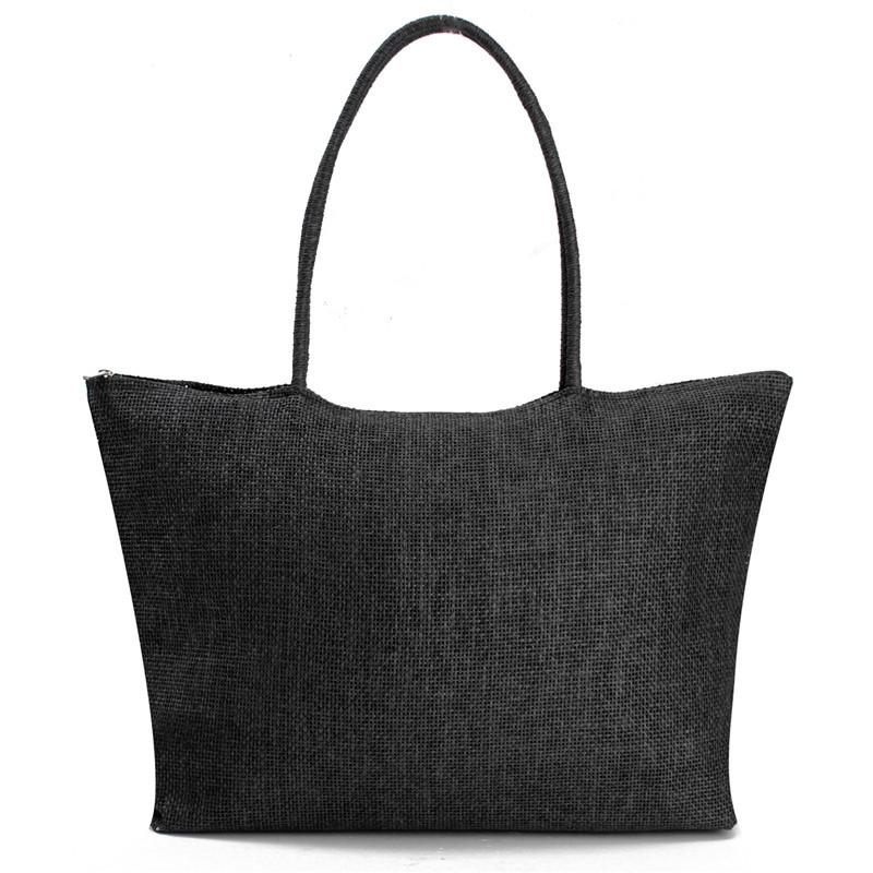 2017 Hot New Design Straw Popular Summer Style Weave Woven Shoulder Tote Shopping Beach Bag Purse Handbag Gift FreeShipping N770 11