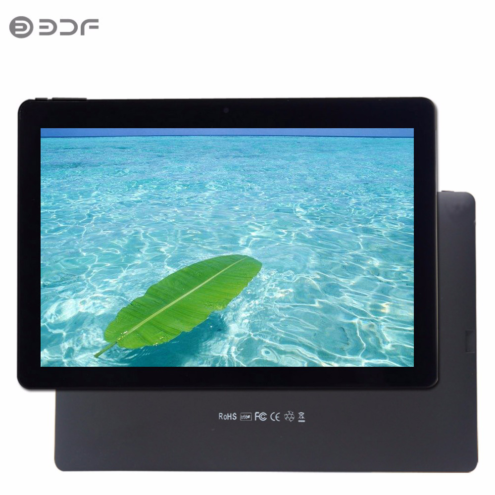 2018 New 10 Inch Android 7.0 Tablet Pc 1GB RAM 32GB ROM Quad Core 1280*800 LCD WiFi Bluetooth Support Extend TF Card Tab 10.1 7
