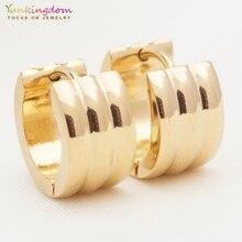Yunkingdom, бренд, серьги из нержавеющей стали, титана, маленькие серьги-кольца для женщин, модные подарки UE0329