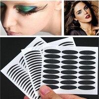 20 unids/lote 2015 Sexy Cat Eyes Sticker Smoky Tatuaje Delineador de Ojos Negro y Cinta de Doble Párpado Maquillaje de Ojos 48 Pegatinas Envío gratis