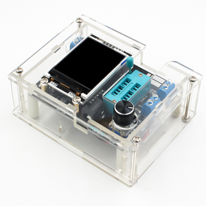 Image 4 - GM328 Multi use Transistor Tester DIY Kit Diode Capacitance Voltage Meter PWM Square Wave Signal Generator +DIY Acrylic Case