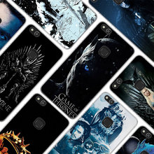 for Huawei P10 Lite Game of Throne poster Style clear frame back Cover Case for Huawei P20 Lite P Smart P10 lite P8 P9 lite цены онлайн