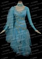 Rumba Jive Chacha Ballroom Latin Dance Dress Girls Women Competition Latin Dance Dress Women Or Girl