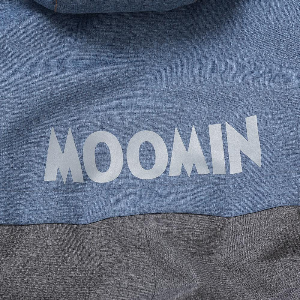 Image 4 - Moomin muumi gray winter overall boys winter jumpsuit waterproof 140cm warm boys winter overall kid  30 degree cartoon overall-in Overalls from Mother & Kids
