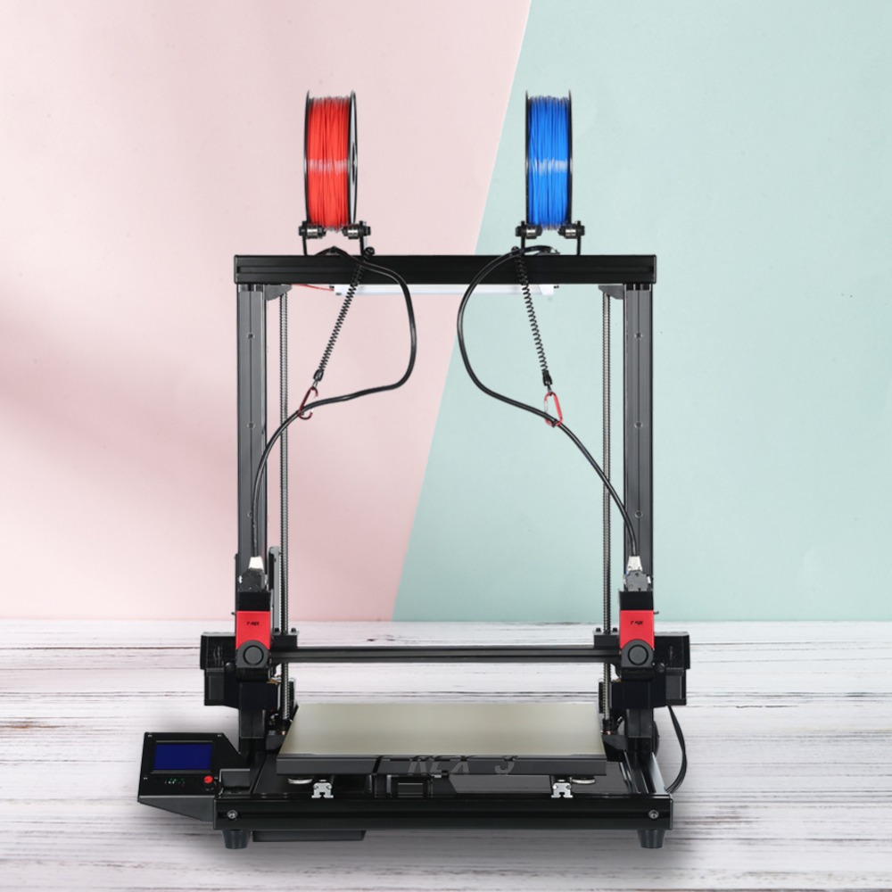 VIVEDINO 3D Printer Independent Dual Extruder laser printer