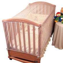 Baby Crib Cot Insect Mosquitoes Nets Tent Infant Bed Folding Crib Netting Canopy for Child Baby in stock(China)