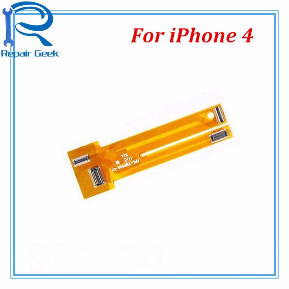 1pcs New High Quality LCD Display Touch Screen Digitizer Test Flex Ribbon Replacement For IPhone 4 LCD Tester Flex Cable Parts