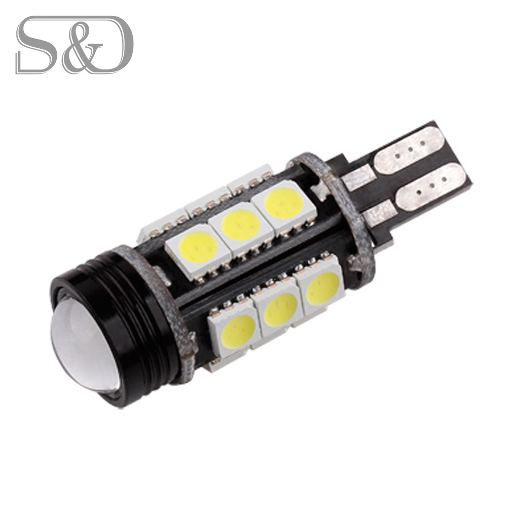 T15 Canbus Error Free COB Bulbs Cree Chip Emitter LED 921 912 W16W LED Car lamps External Lights 5050 SMD 12V Xenon White 2 x error free super bright white led bulbs for backup reverse light 921 912 t15 w16w for peugeot 408