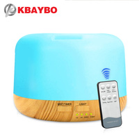 300ml Air Conditioning Humidifier Aroma Essential Oil Diffuser Mist Humidifier Aromatherapy Diffuser With 7 Color LED