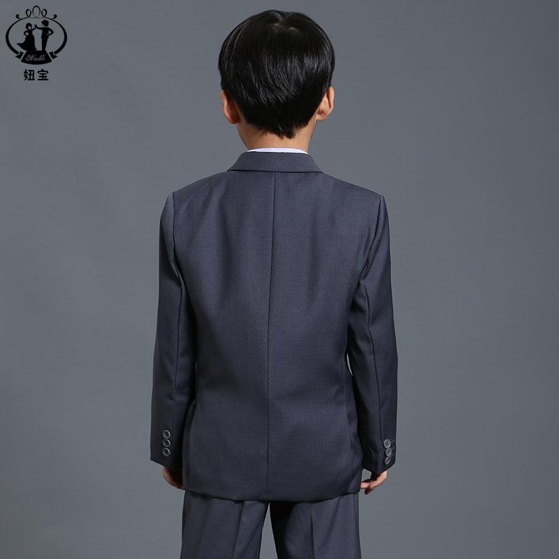 New Fashion costume for boy Grey Boy Blazer for Wedding Baby Boy ...