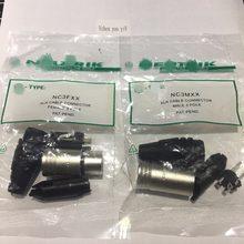 Connecteur XLR, 20 pièces/lot, pour tout nouveau, 10 pièces, NC3MXX, mâle et femelle, 3 Broches