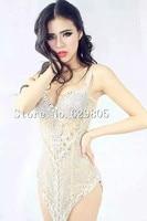 Блестящее платье с бриллиантами перспектива Сверкающие Хрустальные Вечерние платья костюм сценическая Клубная одежда со стразами певица