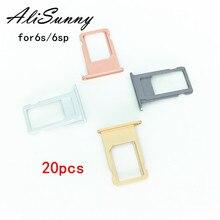 AliSunny 20 個 SIM カード iphone 6 S プラス 6SP 4.7 SIM カードアダプタの交換部品