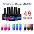 BELLE FILLE 10 ml de Color Cambio de Temperatura Thermo Barnices Pulimento Del Gel UV Gel Laca Laca Casa Manicura empapa del polaco