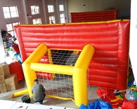 Good quality inflatable outdoor playground inflatable soccer field for kids
