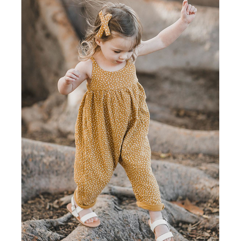 2019 Spring Autumn Long Sleeve Floral Jumpsuit Clothes Cotton Rompers Baby Girl Boy Clothes One-Pieces Baby Girl Boy Rompers