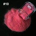 1X10g Polvo Del Brillo Deslumbrante Caramelo de Azúcar Del Arte Del Clavo 3D Pigmento lentejuelas Consejos Mix amarillo Polvo Del Polvo Del Brillo Del Arco Iris de color rojo 1310