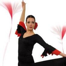 Latin Ballroom Dance Tops For Women Ladies Ballroom Waltz Modern Bullfighting Flamenco Dance Wear Women Standard Tops DN1161