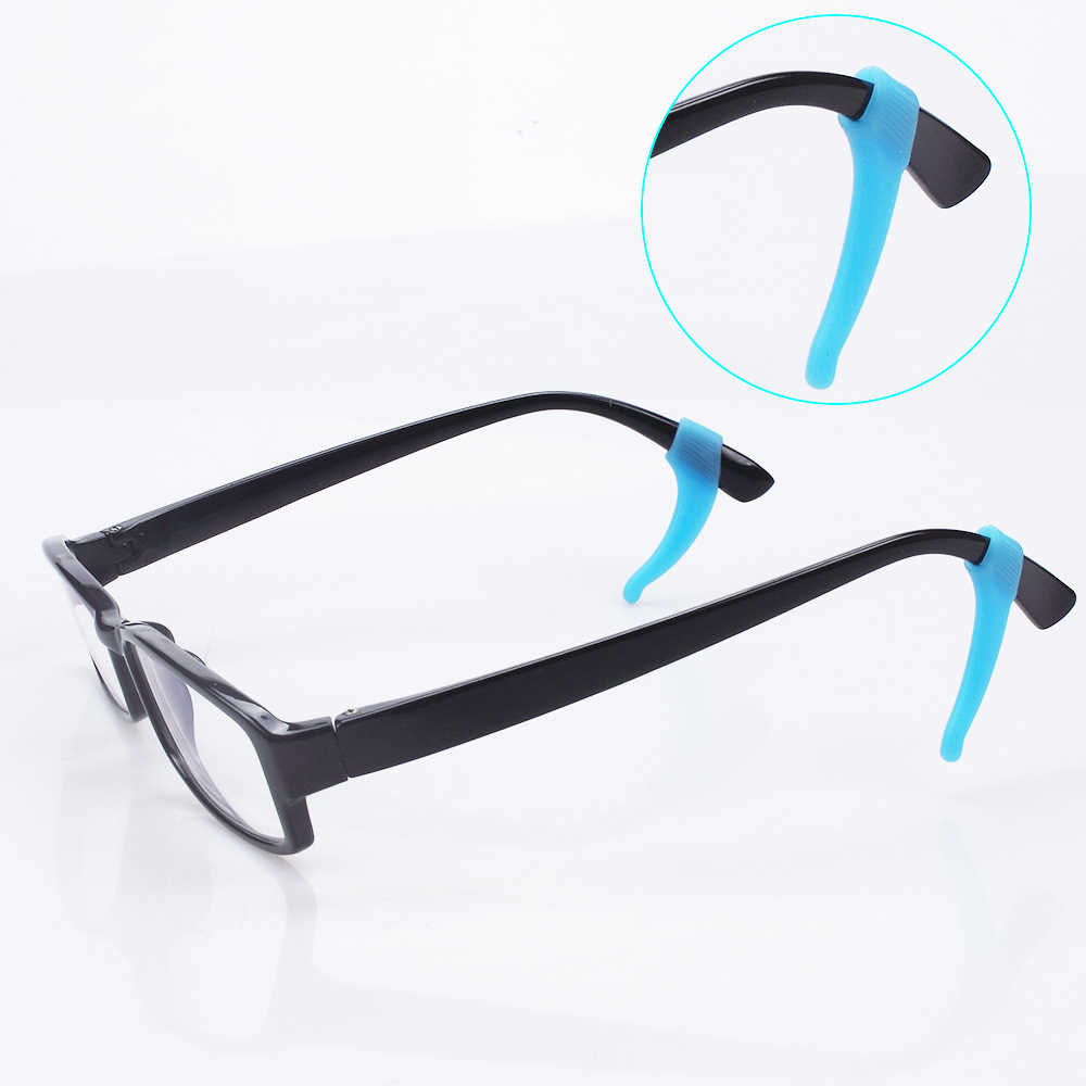32db7db23f2 ... 10Pairs Lot Soft Silicone Anti-slip Holder For Glasses Accessories Ear  Hook Sport Eyeglass