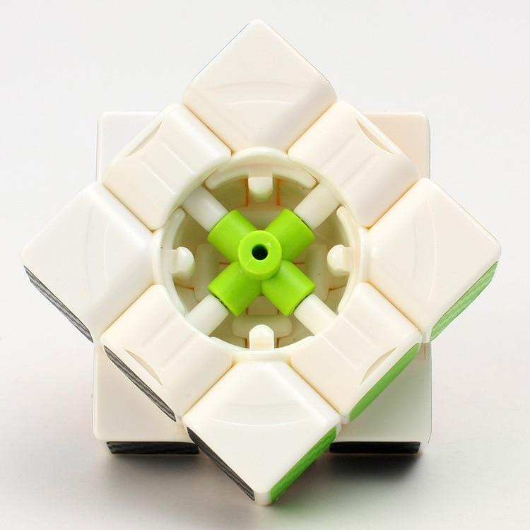 3 * 3 * 3 Karbon Fiber Sticker El Spinner Neo Küpler Hız Oyunu - Oyunlar ve Bulmacalar - Fotoğraf 6