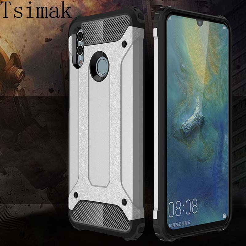 Tsimak <font><b>Case</b></font> For <font><b>Huawei</b></font> Y5 Y6 <font><b>Y7</b></font> Y9 Pro Prime 2018 P Smart Z Plus <font><b>2019</b></font> Cover <font><b>Shockproof</b></font> Phone Back Armor <font><b>Case</b></font> Coque image