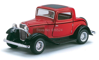 Brand New Classic 1932 Ford 3 Window Coupe Retro Car Vintage Die Cast Boys Collectible 1