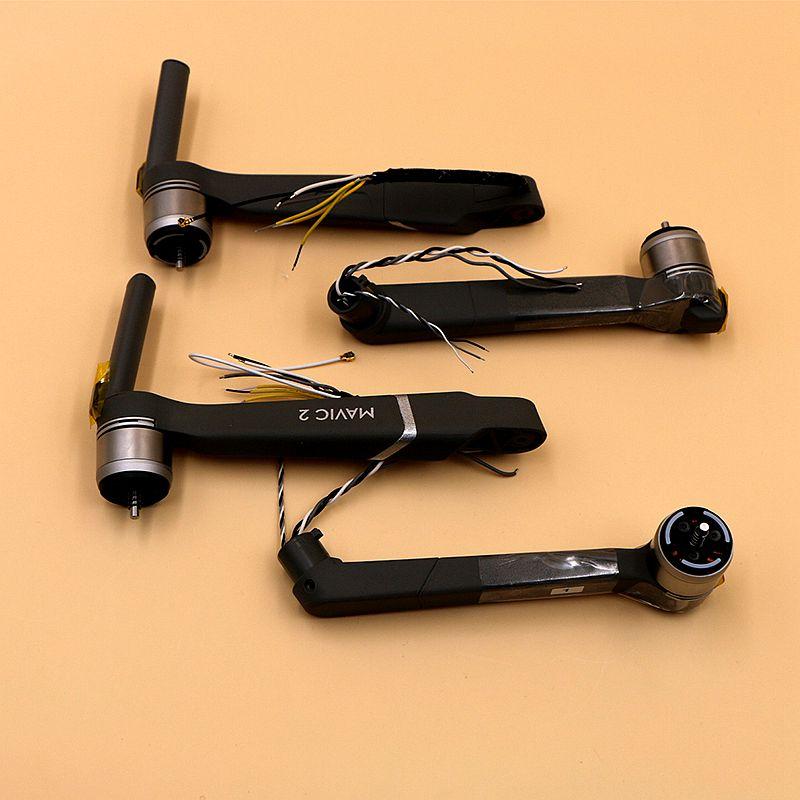 Tout nouveau bras de remplacement Original DJI Mavic 2 avec moteur pour DJI Mavic 2 Pro & Zoom pièces de rechange de Service de réparation de bras de moteur