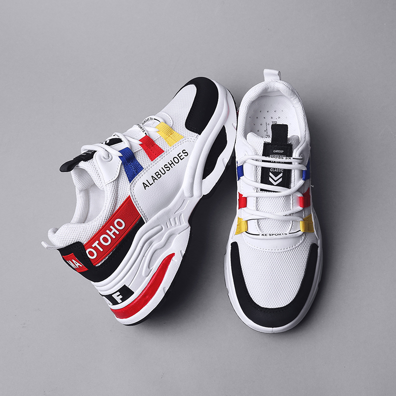 Women Shoes New Mesh Breathable Fashion Chunky Sneakers Basket Femme Platform Women Casual Shoes White Tenis Feminino TrainersWomen Shoes New Mesh Breathable Fashion Chunky Sneakers Basket Femme Platform Women Casual Shoes White Tenis Feminino Trainers