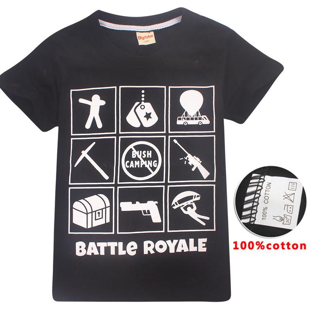 Black Fortnite T-shirt