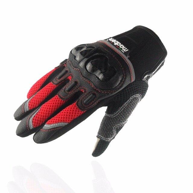 Madbike touch screen motorcycle gloves motos motocross luvas motorbike moto atv guantes motocicleta carbon protection M~ XXL