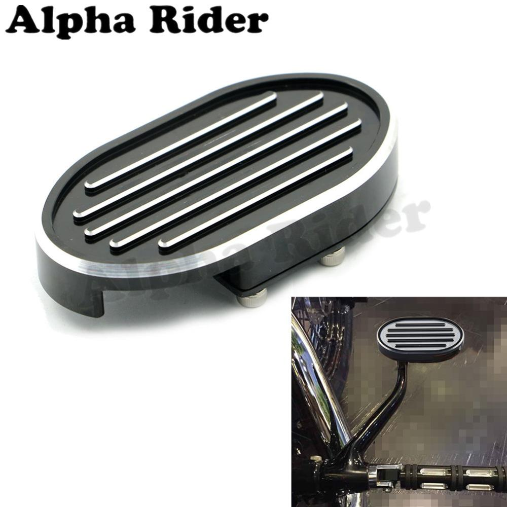 Frames & Fittings Hearty Tcmt Motorcycle Brake Pedal Pad For Harley Electra Glide Flht Heritage Softail Dyna Street Fat Bob Low Rider Flhx Fld Colours Are Striking