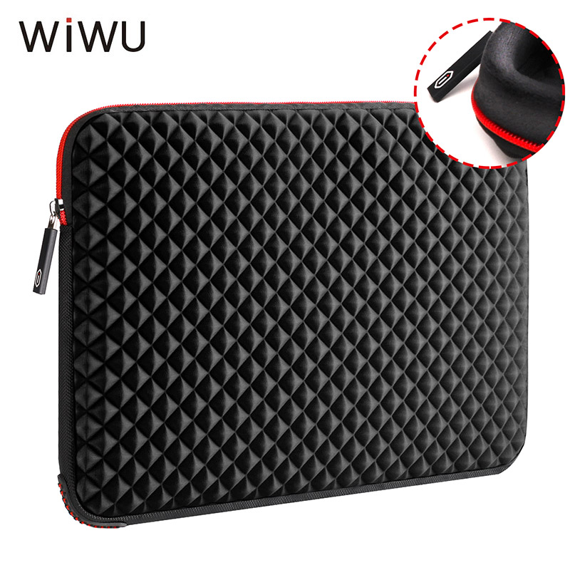 WIWU 13.3 15.6 17 17.3 inch Laptop Sleeve Waterproof Shockproof Diamond Skin Notebook Case Bag For Macbook Pro Xiaomi Air 13 15 wiwu waterproof laptop bag case for macbook pro 13 15 air bag for xiaomi notebook air 13 shockproof nylon laptop sleeve 14 15 6