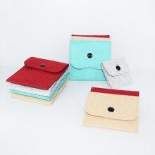 Цветные бархатные мешочки для украшений кольцо для колье и сумки бусы на ручную сумку браслет держатель Органайзер для сережек 30 шт./лот