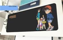 Детектив Конан геймерский коврик для мыши Professional 800x300x3 мм игровой коврик для мышки для ноутбука ПК аксессуары ноутбук padmouse эргономичный коврик