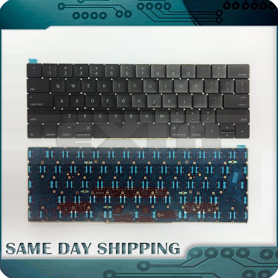 Original New for Macbook Pro Retina 13 A1706 US English Keyboard with Backlight Backlit QWERTY USA Layout 2016 2017 Year new laptop keyboard for dell xps 13 9343 9350 9550 backlit uk layout